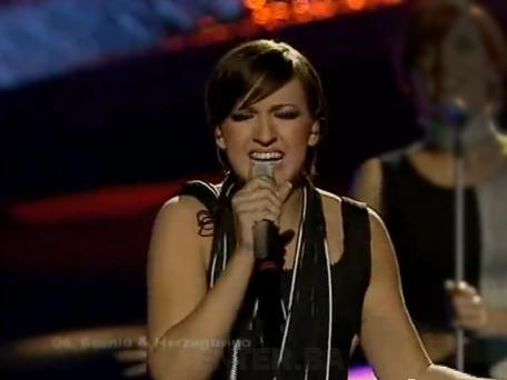 Predstavnica BiH na Eurosongu 2003 - Mija Martina Barbaric